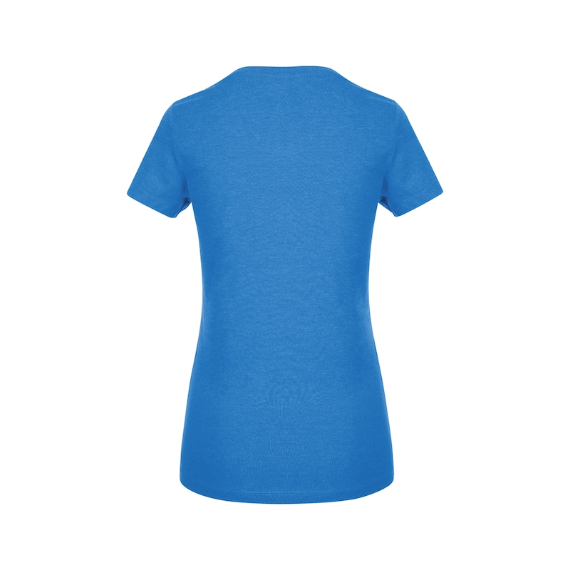 Arbeits T-Shirt Logo IV Damen - T-SHIRT LOGO IV DAMEN ROYALBLAU XS