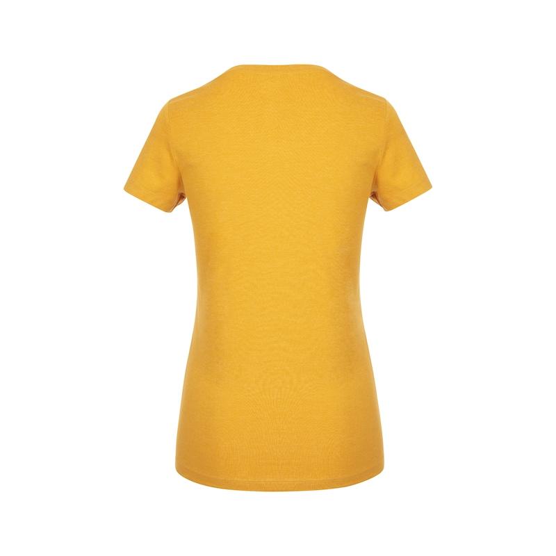 Arbeits T-Shirt Logo IV Damen - T-SHIRT LOGO IV DAMEN SENFGELB XL