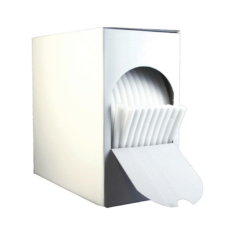 Fita adesiva de espuma - SOFT MASK - CORDAO DE ESPUMA 14MM X 50M