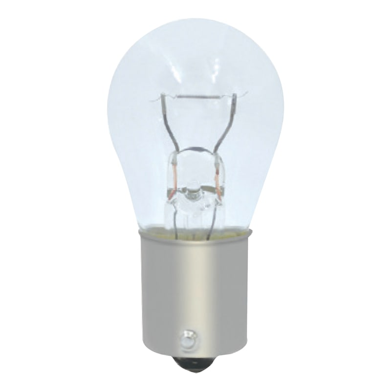 Indicator Bulbs S25 12V  21/5W BA15d - BULB-INDCTR/BRK-P21W-BA15S-12V-21W