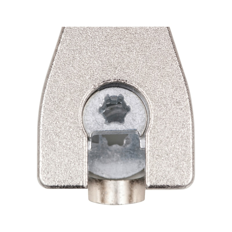 System connector SV 20 E, twin-pin - SYSCON-SV20E-ZD-DPPLUG-BAR-AW20-(NI)-16