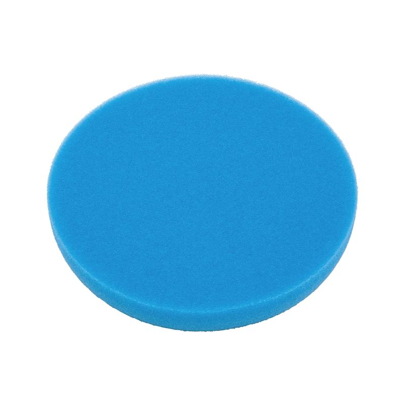 ポリッシュパッド、ブルー - ポリッシュパッド 170ΦX30MM 青ハード