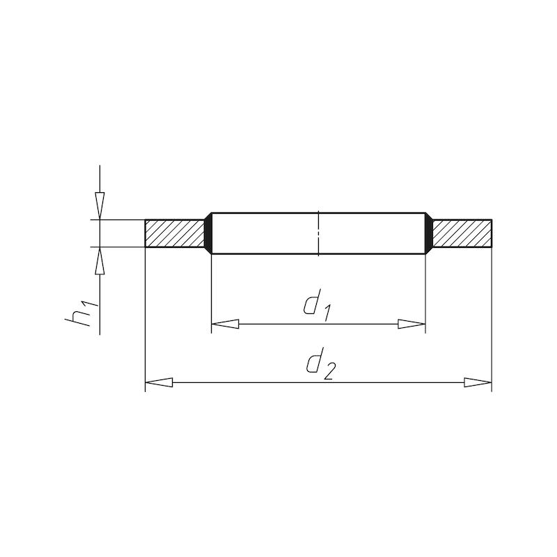 Schraubendichtung - SHB-SHRDI-SELBSTZENT-(A2K)-M26-1ZO