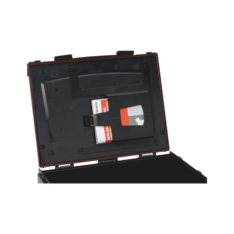 Dokumentenfach für System-Koffer 8.4. - 2