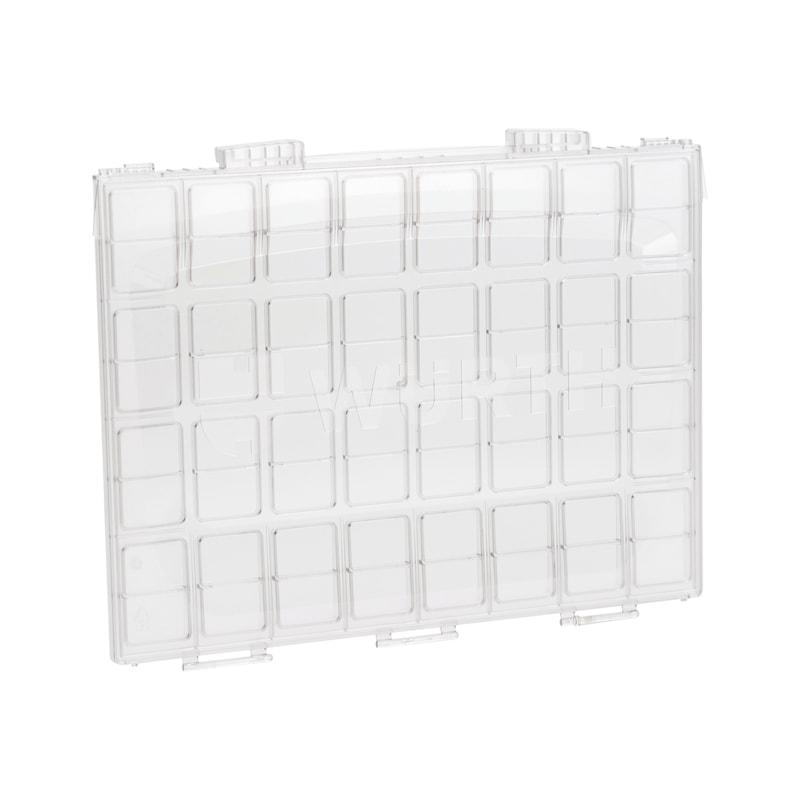 Deckel transparent für System-Koffer