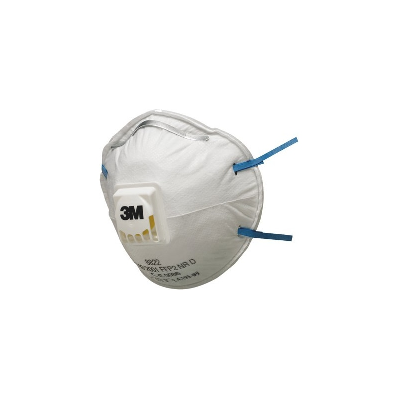 Breathing mask 3M 8822 FFP2 with valve 3M<SUP>®</SUP> FFP2 8822