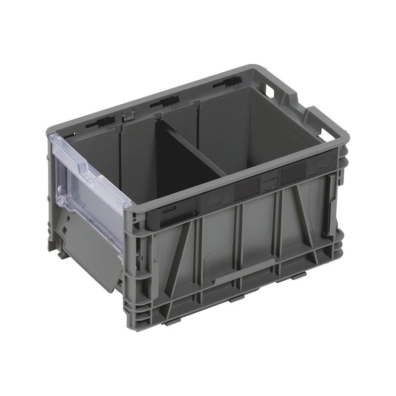 Trennsteg halbhoch für System-Lagerbox W-SLB - ZB-TRENNER-SYSLGRBOX-FLACH-GR3