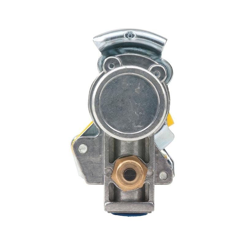 Kupplungskopf mit integriertem Leitungsfilter und Prüfanschluss - 2