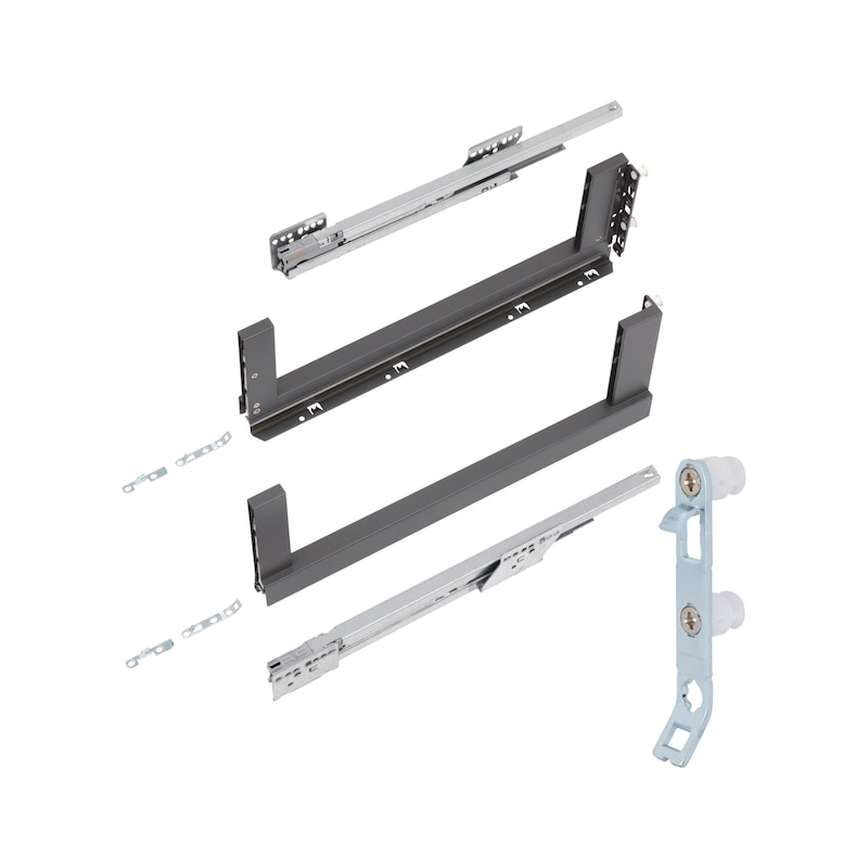 Zargen-Set Nova Pro Scala Crystal Plus H186 - ZARG-SET-SCALA-SD-ICE-H186CP-40KG-NL270