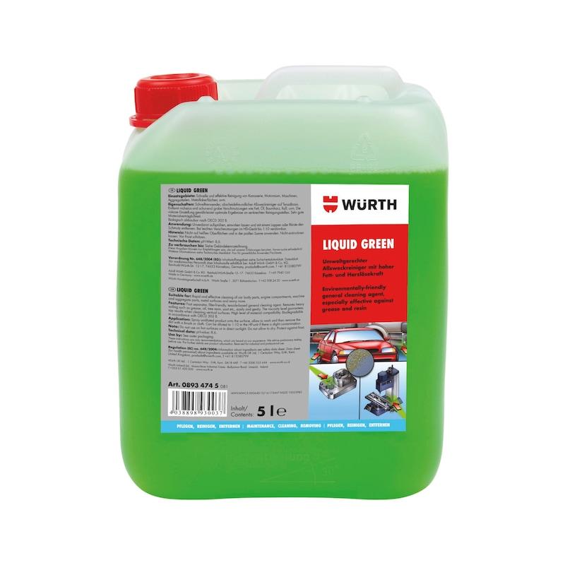 Allzweckreiniger Liquid Green - ALLZWREINIG-(LIQUID GREEN)-5LTR