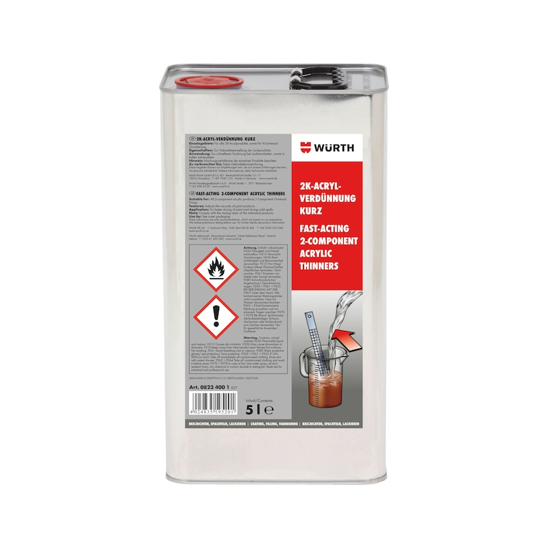 Acryl-Verdünnung kurz - VERDUENN-ACRYL-KURZ-5LTR