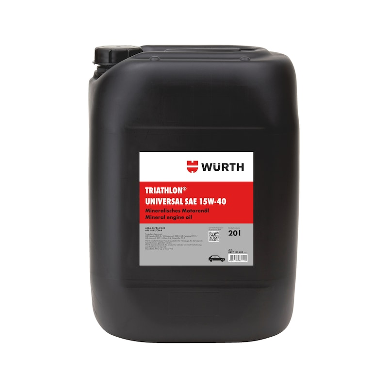 Engine oil TRIATHLON<SUP>®</SUP> Universal SAE 15W-40