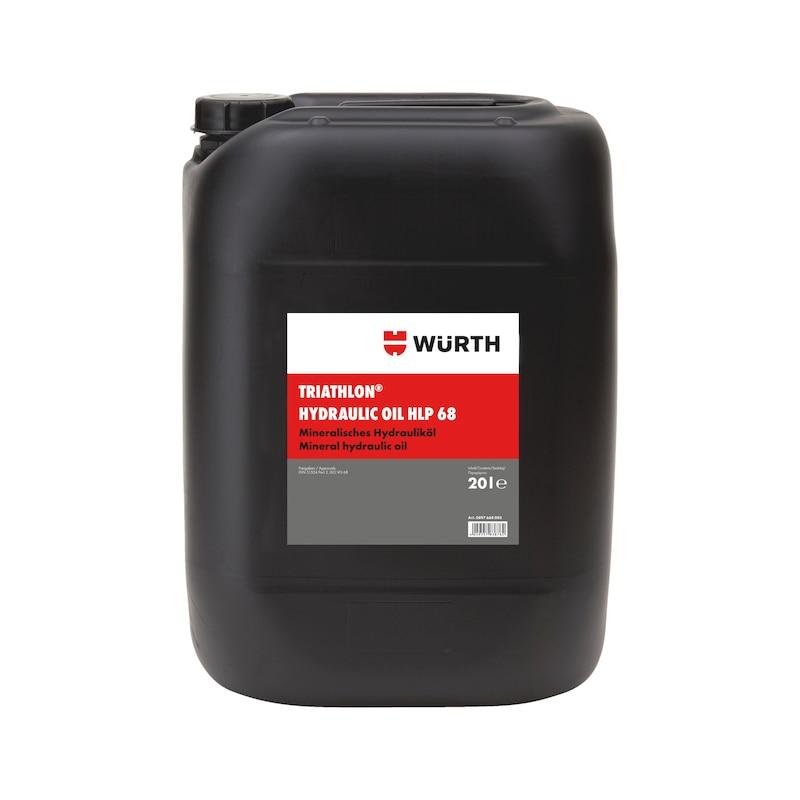 Hydrauliköl TRIATHLON<SUP>®</SUP> HLP - HYDROEL-HLP68-20LTR