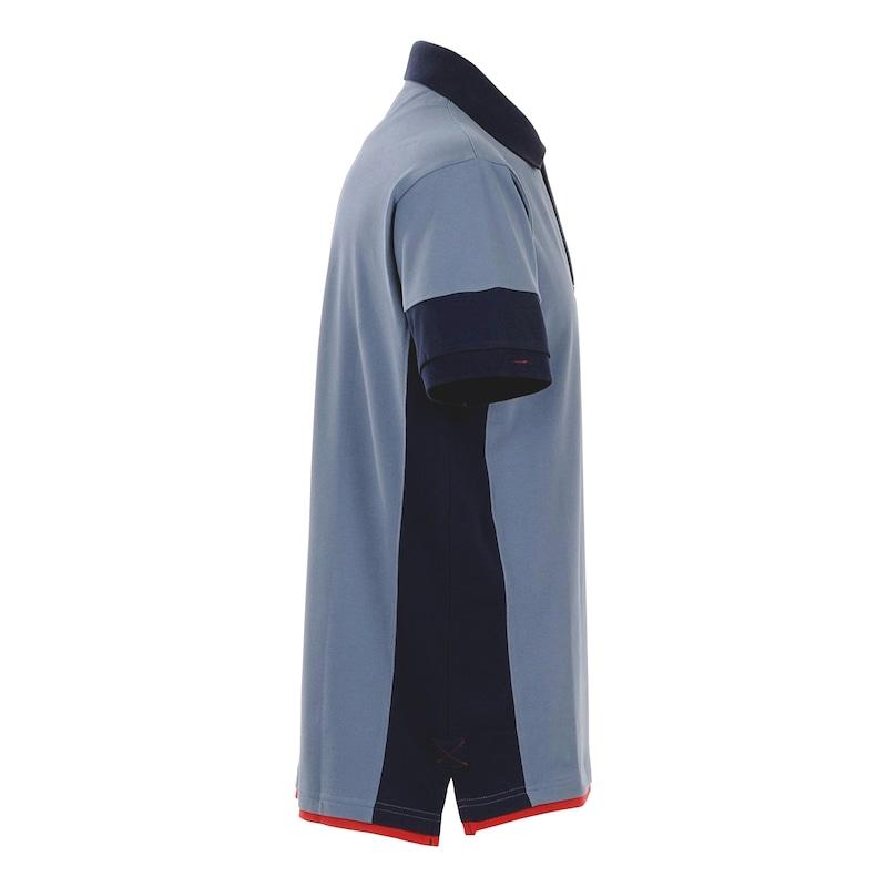 Stretchfit Poloshirt - POLO-SHIRT STRETCHFIT BLAU L