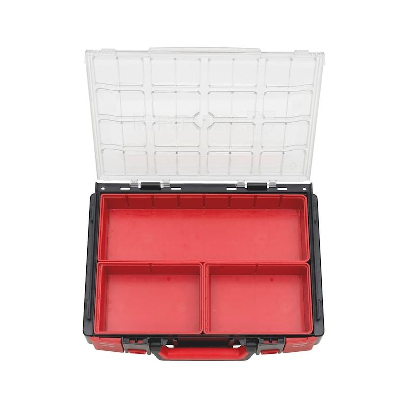 Valigia sistema 4.4.1 trasparente vuota - VALIG-ORSY-4.4.1-C-3-BOX-SISTEMA