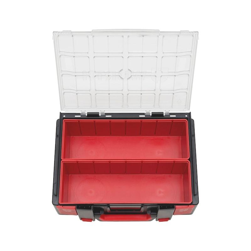 Valigia sistema 4.4.2 trasparente con box - 1