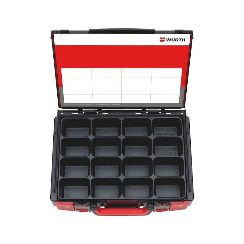 ASSY<SUP>®</SUP> 3.0 blau verzinkt, Teilgewinde, Senkfrästaschenkopf Koffer-Set &empty; 3,0 - 5,0 mm - 2