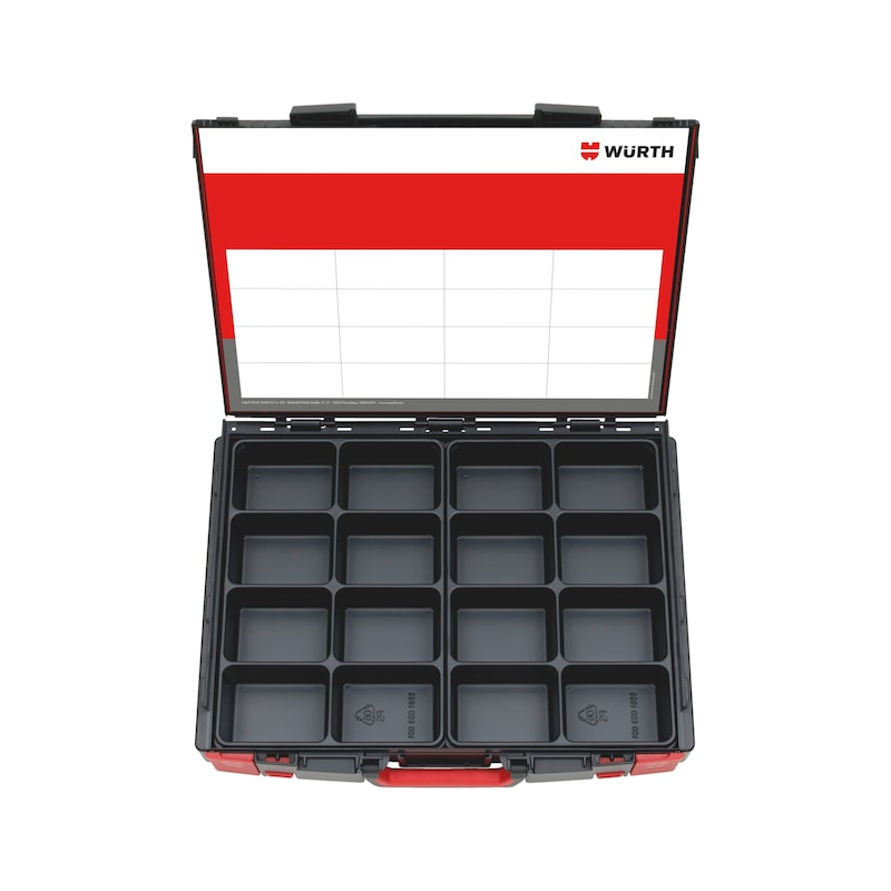 System-Koffer 8.4.1 Leersortiment - SYSKOFFR-8.4.1.-TFZTL-8FACH-2STK