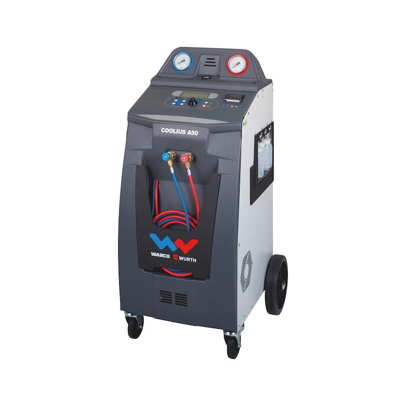 Station de recharge de climatisation mono-gaz R134a Coolius A50 - 8