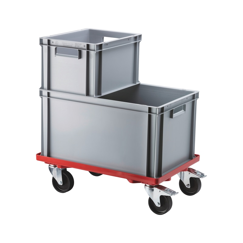 Trolley for Euro containers - 2