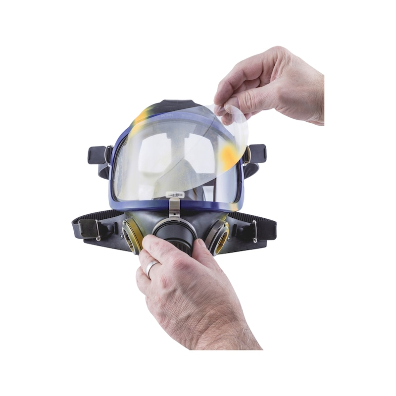Film de protection pour écran de masque intégral VM 142 et VM 175 - AY-VISORPROTFOIL-FULLMASK-VM142/175