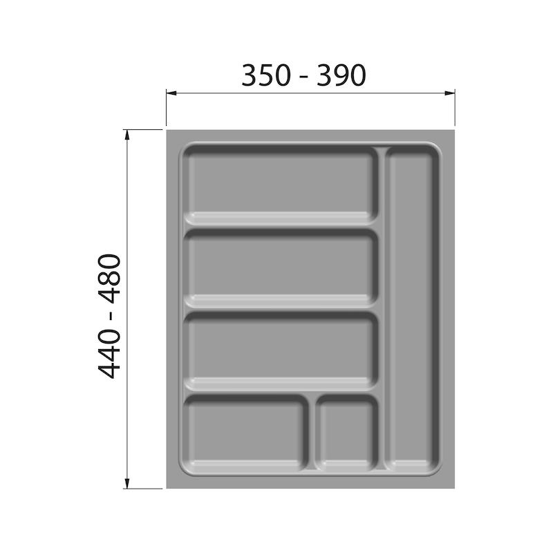 Besteckeinsatz - BESTECKEINSA-WEISS-KORPUS-450MM