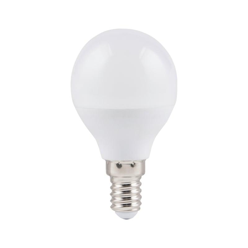 LED svítidlo    E14, tvar golf. míčku, bez stmívání