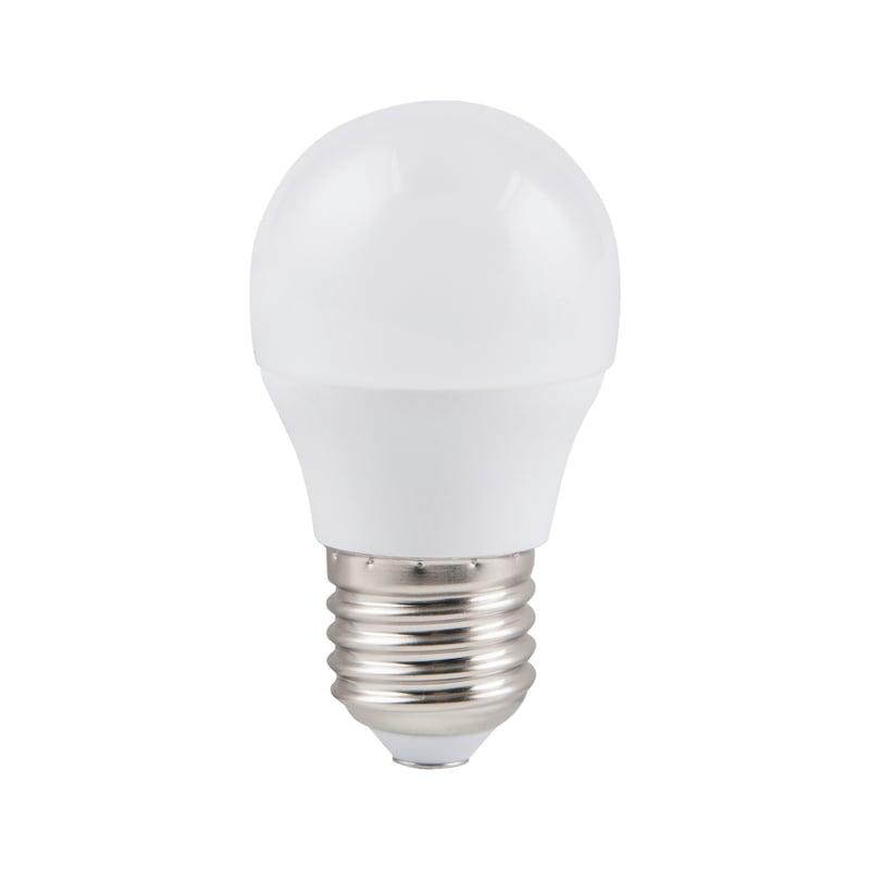Ampoule LED,  E27 en forme de balle de golf, sans variation d'intensité