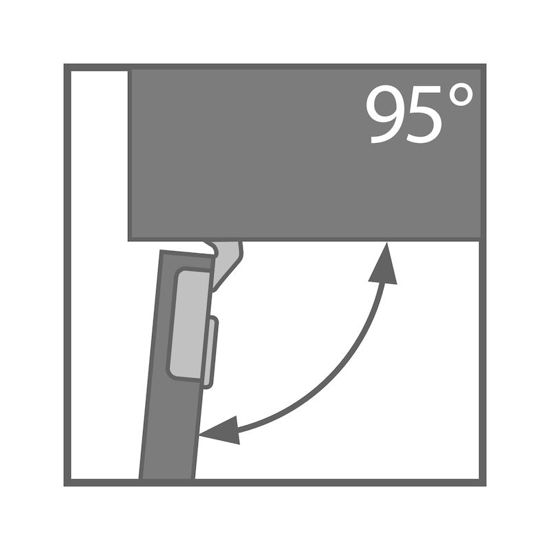 Topfscharnier TIOMOS Impresso 95 - 2