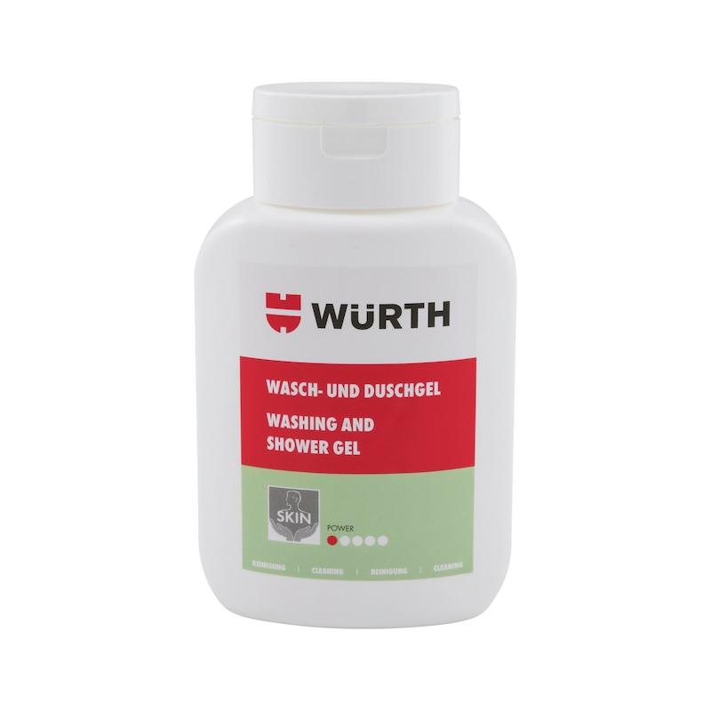 Wasch- und Duschgel Flasche  - WASH/DUSCHGEL-BLAU-250ML