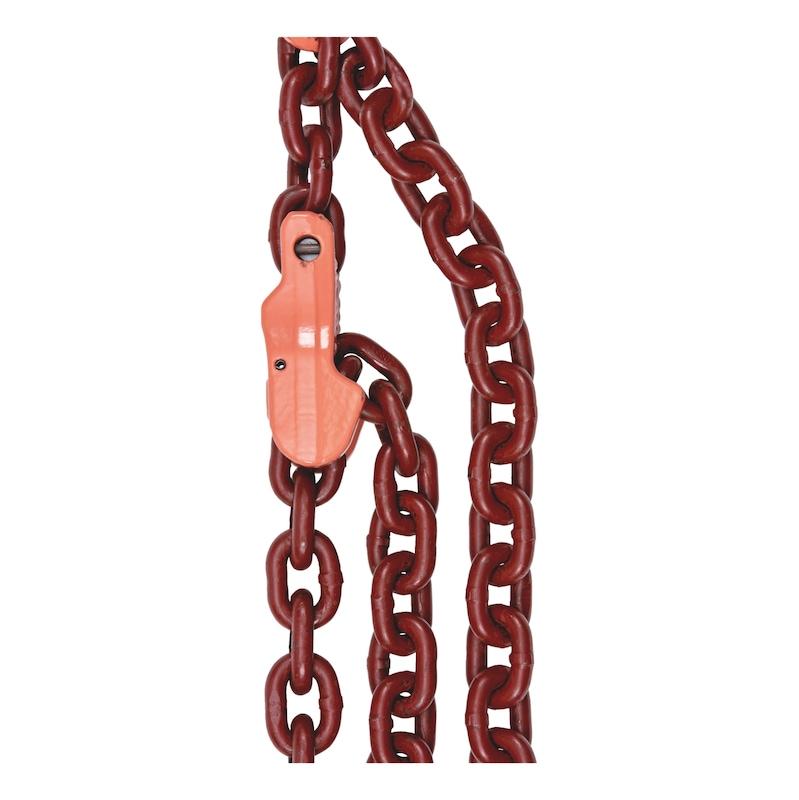 1-Strang Kettengehänge GK 10 - GBLKPFHAK-VKUERZKLAUE-1STR-GK10-ND6-2M