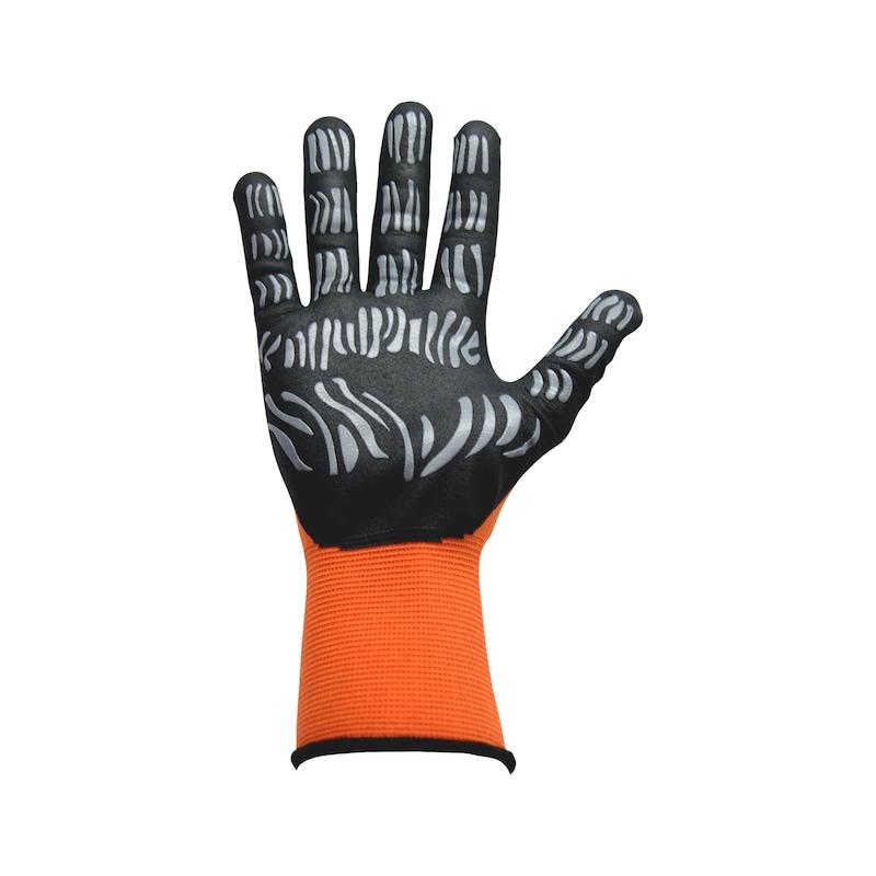 Beskyttelseshandske, nitril, Tigerflex Light - 0