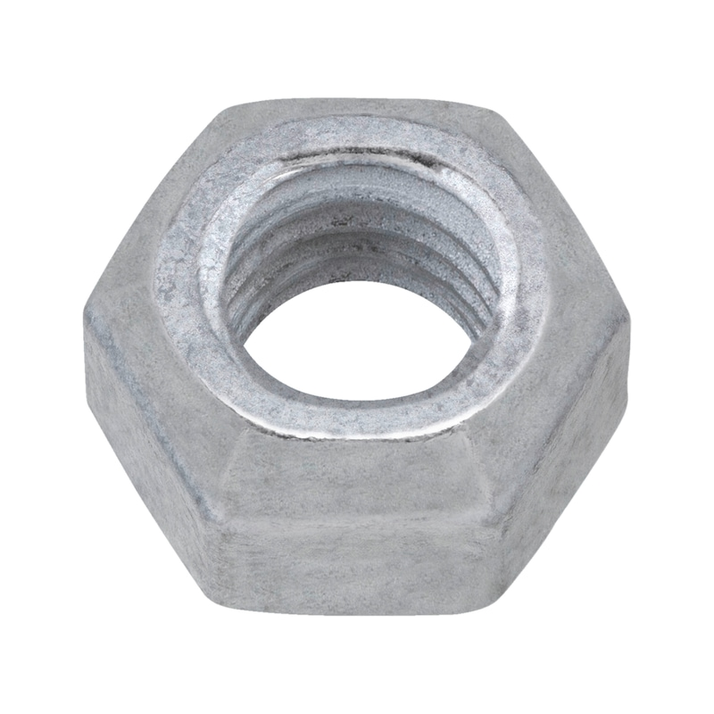 Hexagon nut with clamping piece (all-metal) - 1