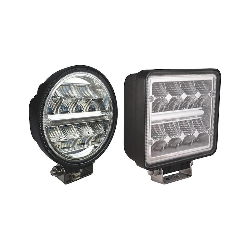 LED werklamp 16 x 1,5 watt philips LED's - 2272 lumen