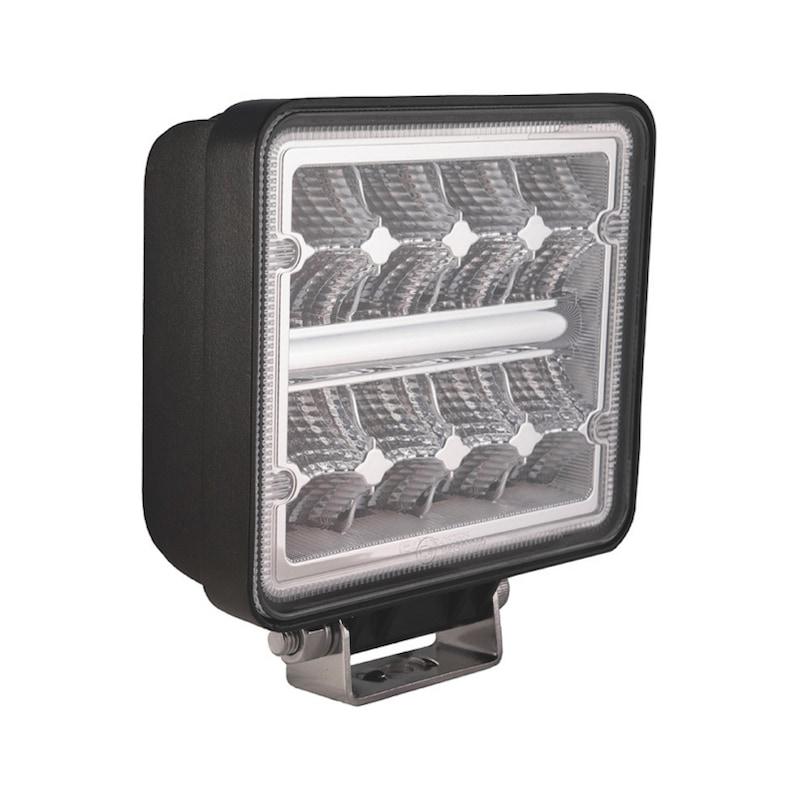 LED werklamp 16 x 1,5 watt philips LED's - 2272 lumen - LED-WERKLAMP-24W-2272LUMEN-(9-36V) VRKNT