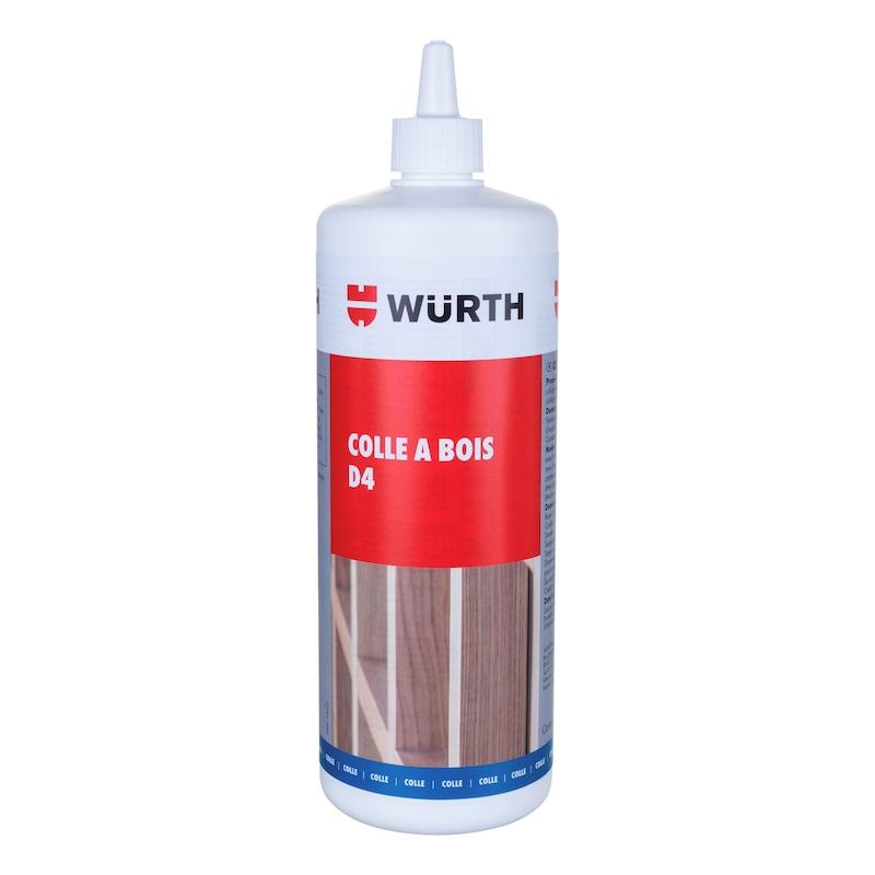 Colle à bois monocomposant D4 - COLLE A BOIS D4  EN204  1KG