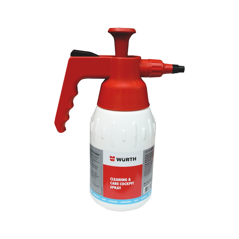 Product-specific pump spray bottle Unfilled - PMPSPRBTL-EMPTY-COCKPCLNR-1000ML