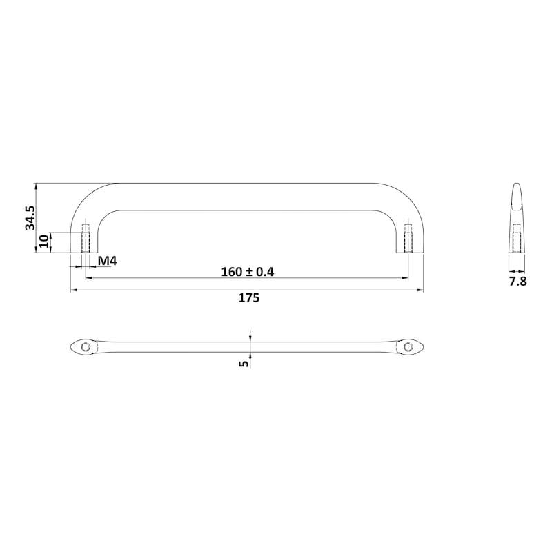 Design-Möbelgriff MG-ZD 22 - 2