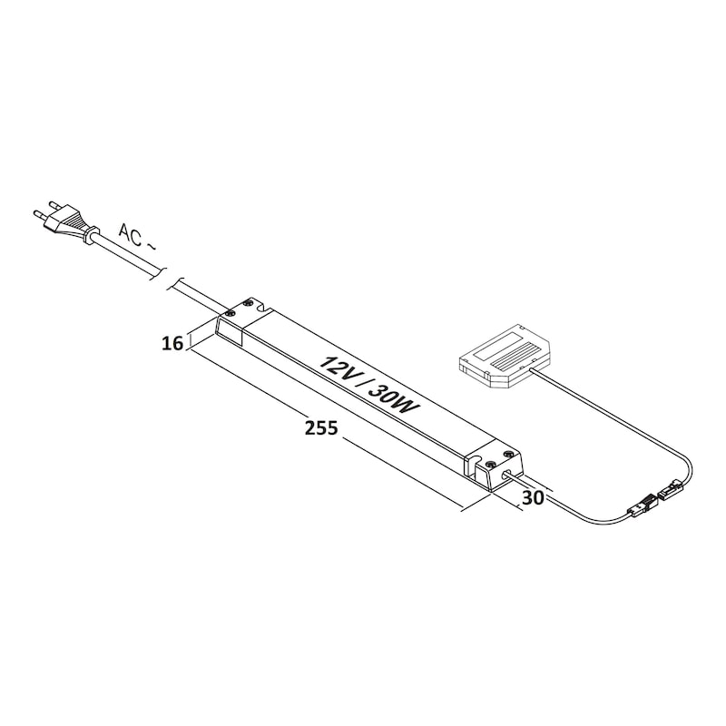 LED Sicherheitstransformator - 2