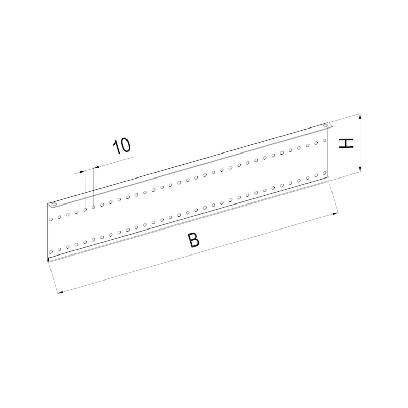 Perforated screen OrgaAer - 2