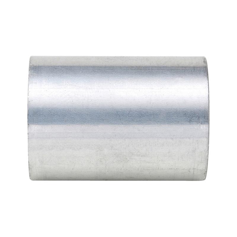 Gewindemuffe für Aluminiumrohr Alu-Gewinde-WES