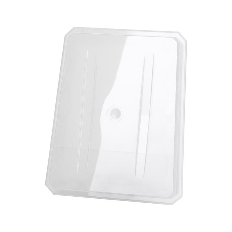 Frontplaat voor LED-werklamp - RESERVEGLAS VAN POLYCARBONAAT