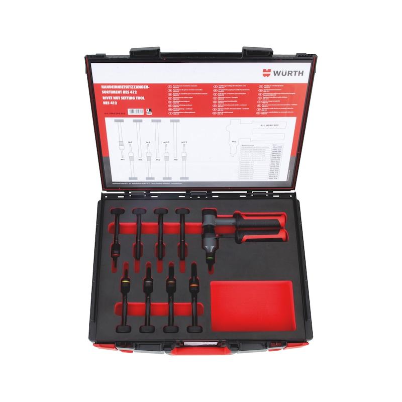 Buy Rivet nut setting pliers HES 412 set Sysko online