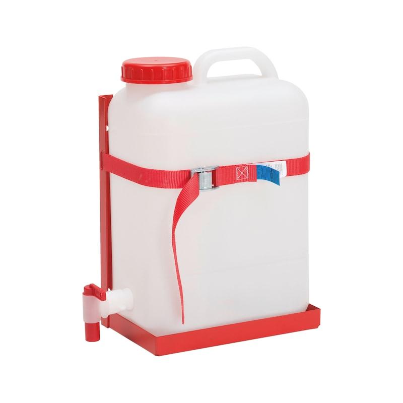 Wasserkanister mit Halter
