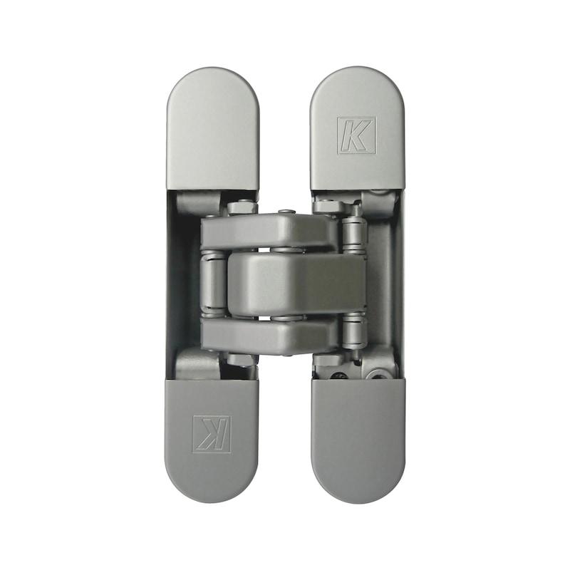 Cerniera invisibile regolabile 3D ATOMIKA SLIM - CERNIERA-INV-3D-ATOMIKA-SLIM-CROMO-LUC