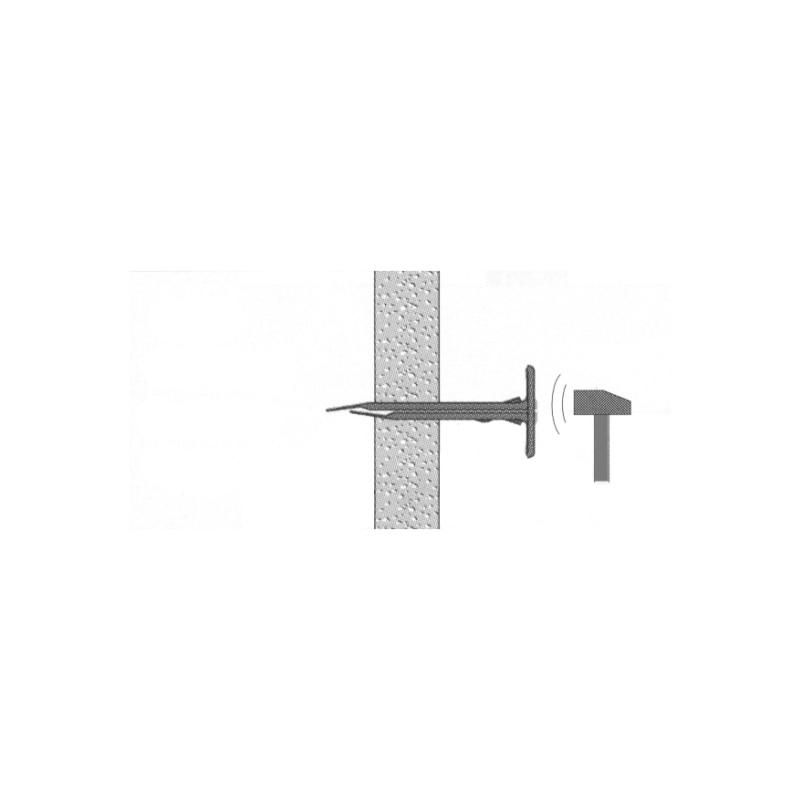 Beüthető gipszkartondübel - 2