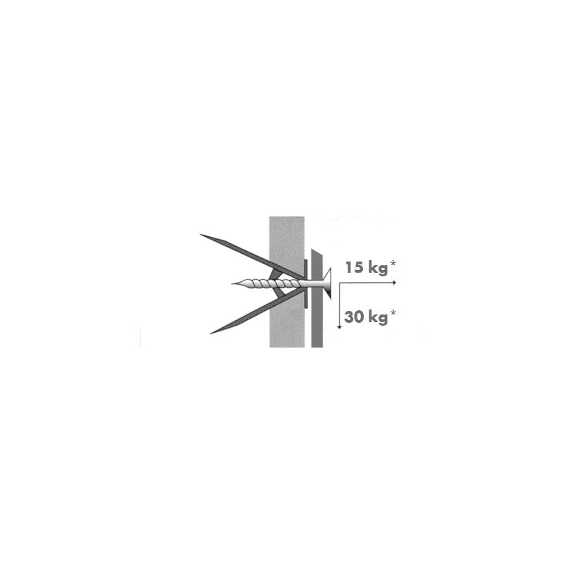 Beüthető gipszkartondübel - 4