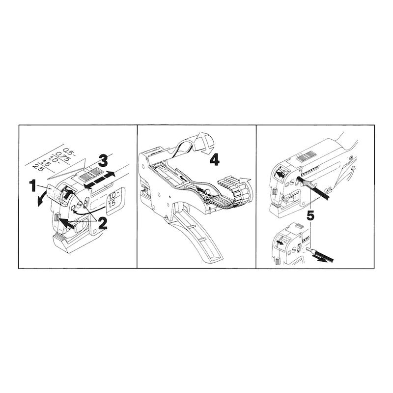 Pince /à sertir multifonction pince /à sertir c/âble Audio vid/éo pour c/âble TV r/éseau de maintenance de ligne c/âble coaxial RG59 RG6