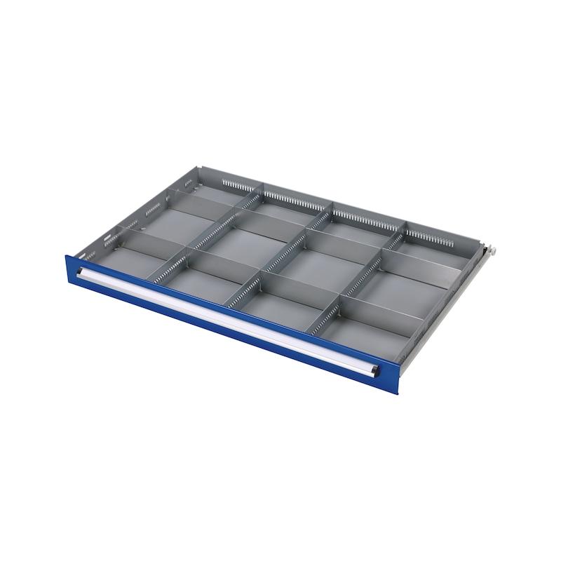 Kit divisori per cassetti BASIC, 12 scomparti