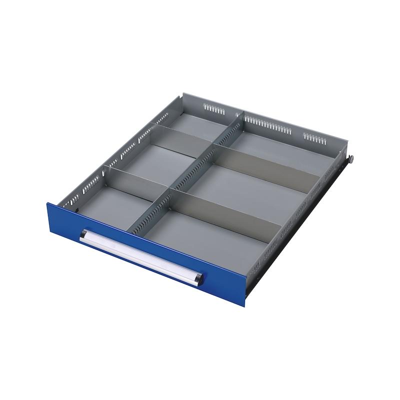 Schubladen-Einteilungs-Set BASIC KWB, 6-fach